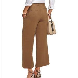Theory cropped wide dress pants sz 6